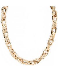 Forever 21 - Double Chain-link Necklace - Lyst