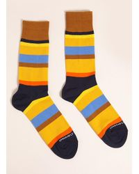 Forever 21 - Men Unsimply Stitched Colorblock Crew Socks - Lyst