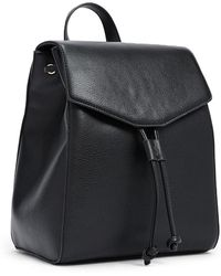 Forever 21 - Faux Leather Drawstring Backpack - Lyst
