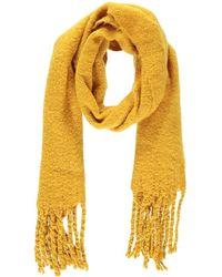 Forever 21 - Brush Knit Scarf , Mustard - Lyst
