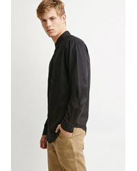 Forever 21 | Classic Button-collar Shirt | Lyst