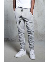 Forever 21 - Zipper Heathered Sweatpants - Lyst