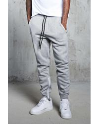 Forever 21 - Zipper Heathered Joggers - Lyst