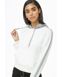 Forever 21 - Colorblock Drawstring Hoodie - Lyst