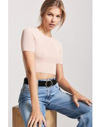 Forever 21 - Women's Knit Crop Top - Lyst