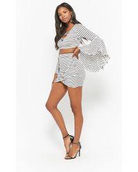 Forever 21 - Striped Mini Skirt - Lyst