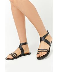 Forever 21 - Faux Leather Sandals - Lyst