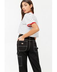 Forever 21 - Dickies Stitch Cargo Jeans - Lyst