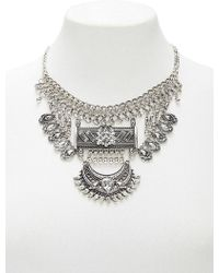 Forever 21 - Boho -inspired Rhinestone Statement Necklace - Lyst