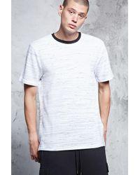 Forever 21 - T-shirt con scollo rotondo - Lyst