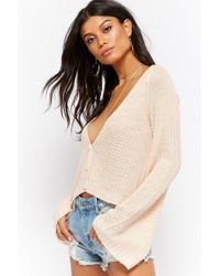 Forever 21 - Bell Sleeve Cardigan - Lyst