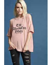 FOREVER21 - Weekend Vibes Graphic Tee - Lyst