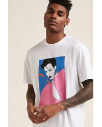Forever 21 - 's Patrick Nagel Woman Graphic Tee - Lyst