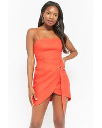 Forever 21 - Cami Wrap Dress - Lyst