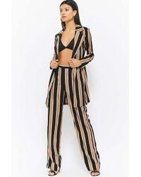 Forever 21 - Striped Jacket & Trouser Set - Lyst