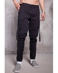 Forever 21 - Ruched Cargo Joggers - Lyst