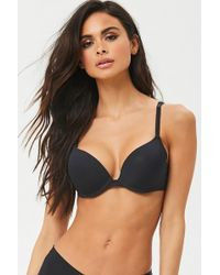 7c6bb86de3 Lyst - Forever 21 Everyday Classic Push-up Bra Set in Pink