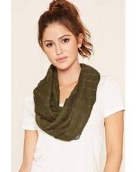 Forever 21 - Woven Infinity Scarf - Lyst