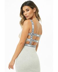 Forever 21 - Flawless Ladder Cutout Bodycon Dress - Lyst