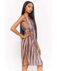 Forever 21 - Kleid mit Streifen - Lyst