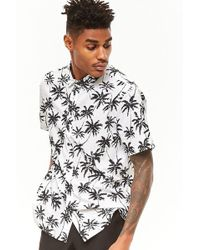 Forever 21 - Palm Tree Print Shirt - Lyst