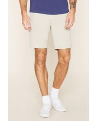 Forever 21 - Cotton-blend Shorts - Lyst