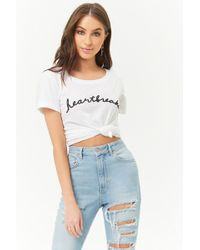 Forever 21 - The Style Club Heartbreaker Tee - Lyst