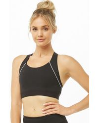 Forever 21 - High Impact - Piped Sports Bra - Lyst
