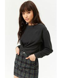 Forever 21 - Twist-front Pullover - Lyst
