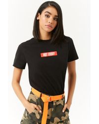 Forever 21 - Not Today Graphic Tee - Lyst