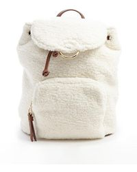 Forever 21 - Faux Shearling Backpack - Lyst