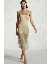 Forever 21 - Chainmail Maxi Dress - Lyst