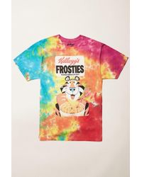Forever 21 - Frosties Graphic Tie-dye Tee - Lyst