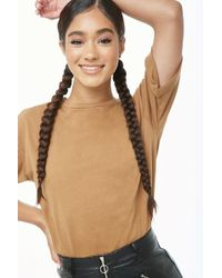 Forever 21 - Vented High-low Tee - Lyst