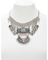 Forever 21 - Boho -inspired Rhinestone Statement Necklace - Lyst