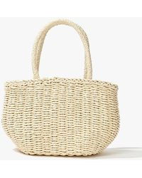 Forever 21 - Straw Basketweave Tote Bag - Lyst
