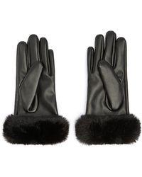 Forever 21 - Faux Leather Finger Gloves - Lyst