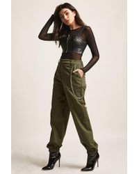Forever 21 - Chained Ankle Joggers - Lyst