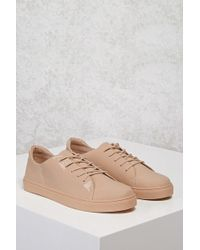 Forever 21 - Faux Patent Leather Sneakers - Lyst