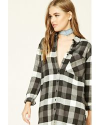 Forever 21 - Buffalo Plaid Flannel Shirt - Lyst