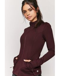 Forever 21 - Active Zip-front Jacket - Lyst