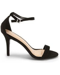 Forever 21 - Faux Suede Ankle-wrap Heels - Lyst