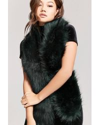 Forever 21 - Faux Fur Scarf - Lyst