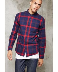 Forever 21 - Classic Check Flannel Shirt - Lyst