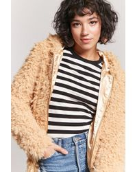 Forever 21 - Shaggy Faux Fur Jacket - Lyst