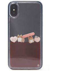 Forever 21 Corgi Waterfall Case For Iphone X/xs , Pink/multi - Multicolour