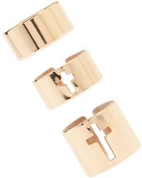 Forever 21 - Stackable Tube Ring Set - Lyst