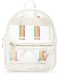 Forever 21 - Clear Vinyl Mini Backpack - Lyst