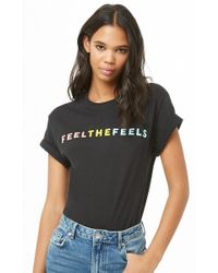 Forever 21 - The Style Club Feel The Feels Graphic Tee - Lyst