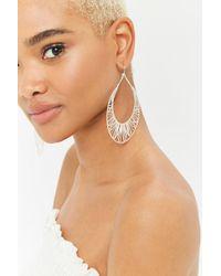 Forever 21 - Geo Cutout Drop Earrings - Lyst